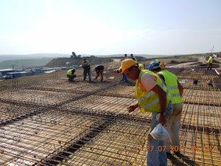 Depozit judetean de deseuri- Stauceni (stadiu constructie iulie 2012)